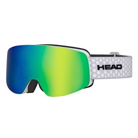 Head Infinity FMR Silver + Sparelens Blue Green 2018
