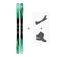 Ski K2 Missconduct 2017+ Tourenbindung + Felle