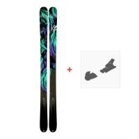 Ski K2 Empress 2018 + Bindungen