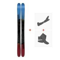 Ski K2 Poacher 96 2018 + Fixations randonnée + Peau