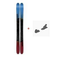Ski K2 Poacher 96 2018+ Fixation de ski