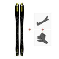 Ski Dynastar Mythic 87 2018 + Fixations randonnée + Peau