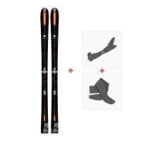 Ski Dynastar Vertical Bear FRA 2018 + Fixations randonnée + Peau