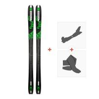 Ski Dynastar Vertical Deer 2018 + Fixations randonnée + Peau