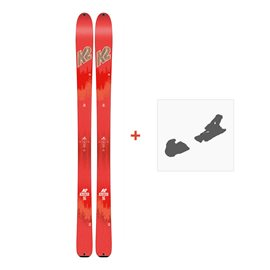 Ski K2 Talkback 96 2018 + Fixation ski