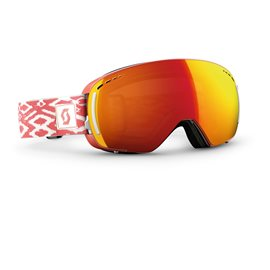 Scott Goggle LCG Compact Coral Pink/Red Chrome 2016