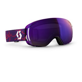 Scott Goggle LCG Compact Purple/Purple Chrome 2016