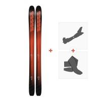Ski K2 Pinnacle 105 2018 + Fixations randonnée + Peau