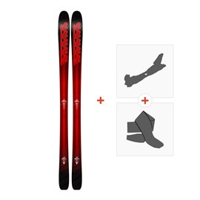 Ski K2 Pinnacle 85 2018 + Tourenbindung + Felle