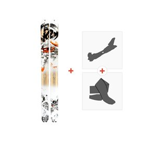 Ski K2 Pon2oon 2018 + Tourenbindung + Felle