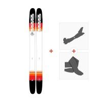 Ski K2 Catamaran 2018 + Tourenbindung + Felle