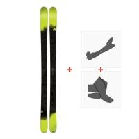 Ski K2 Sight 2018 + Fixations randonnée + Peau