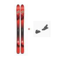 Ski K2 Wayback 104 2018 + Fixation de ski