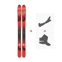 Ski K2 Wayback 104 2018 + Fixations randonnée + Peau