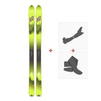 Ski K2 Wayback 96 2018 + Fixations randonnée + Peau