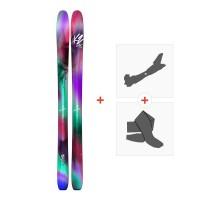 Ski K2 Luv Boat 105 2018 + Tourenbindung + Felle