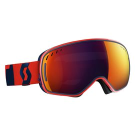 Scott Goggle LCG Fluo Red/Eclipse Blue/Solar Red Chrome 2017