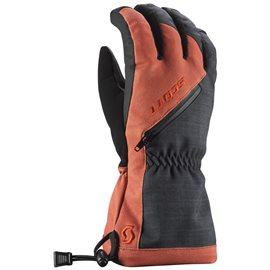 Scott Glove Ultimate Premium GTX Black Burnt Orange 2017