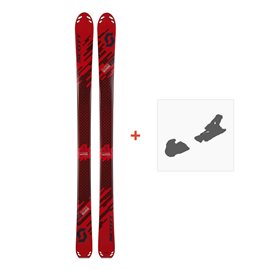 Ski Scott Superguide 88 W's 2018 + Fixation de ski