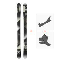 Ski Scott Punisher 105 2018 + Tourenbindung + Steigfelle