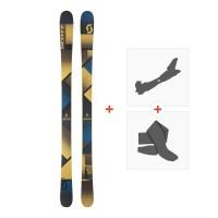 Ski Scott Punisher 95 2018 + Tourenbindung + Steigfelle