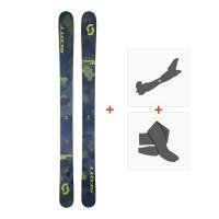 Ski Scott Scrapper 124 2018 + Tourenbindung + Steigfelle