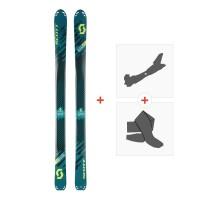 Ski Scott Superguide 95 2018 + Fixations randonnée + Peau