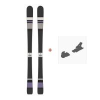 Ski Scott Black Majic 2015 + Fixation de ski