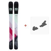 Ski Völkl Yumi 2018 + Fixation de ski