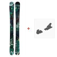 Ski Armada Edollo 2018 + Ski Bindings
