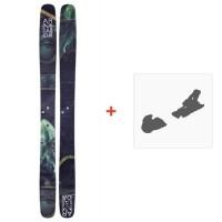 Ski Armada JJ Zero 2018 + Ski Bindings