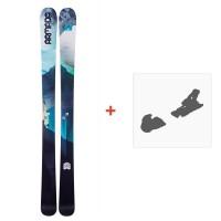Ski Armada Victa 93 2018 + Fixation de ski