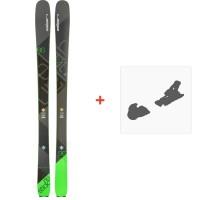 Ski Elan Ripstick 86 2018 + Fixation de ski