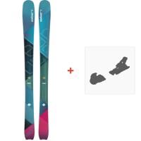 Ski Elan Ripstick 86 W 2018 + Fixation de ski