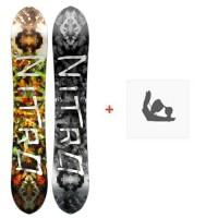 Snowboard Nitro Pro One Off Elias Elhardt 2016 + Fixations
