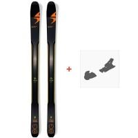 Ski Blizzard Zero G 108 2018 + Fixation de ski