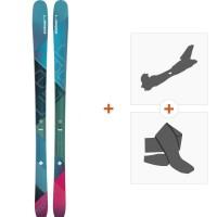 Ski Elan Ripstick 86 W 2018 + Fixations randonnée + Peau