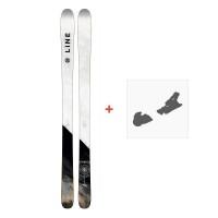 Ski Line Supernatural 86 2018 + Fixation de ski