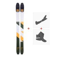 Ski Volkl VTA 98 2018 +  Fixations randonnée + Peau