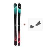 Ski Völkl Yumi 2017 + Fixation de ski