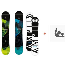 Snowboard Amplid The Hidef 2015 + Fixation