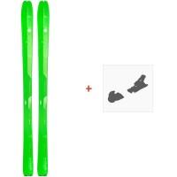 Ski Elan Ibex 84 Carbon 2018 + Fixation de ski